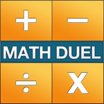 Math Duel  2 Player Mathematical Game for Teen and Adult Brain Training