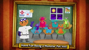 Tizzy Monster Pet Vet