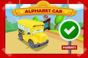 Alphabet Car