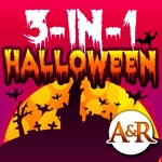 3 in 1 Halloween educational games