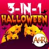 3 in 1 Halloween educational games