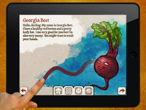 Veggie Bottoms for iPad 2