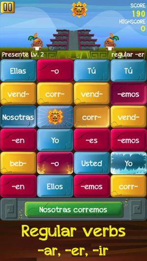 Verb Challenge Spanish 1