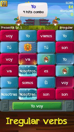 Verb Challenge Spanish 2