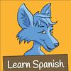 Learn Spanish- Little Blue Jackal