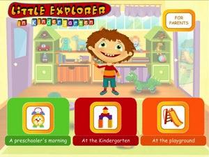 Little Explorer in Kindergarten 2