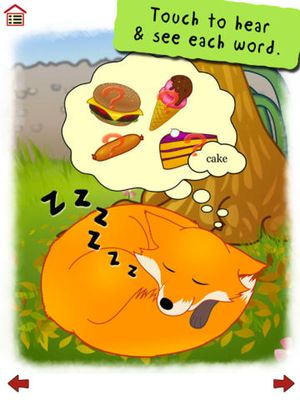 Ferdinand Fox's Big Sleep - interactive rhyming story book app for kids 2