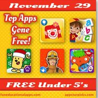 Black Friday Free Apps Under 5's