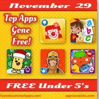 Black Friday Free Apps Under 5's