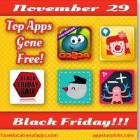 Black Friday Free apps 2