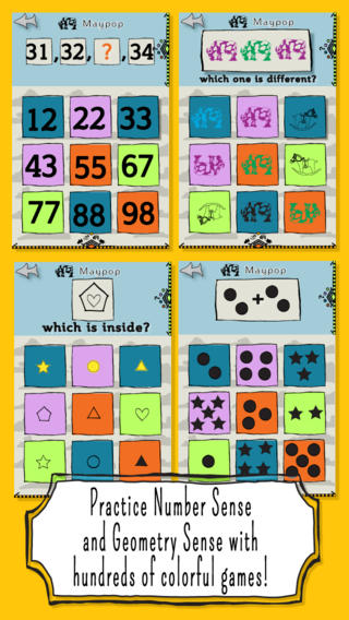 Beyond Cats! Maths Practice for Kindergarten - A Tap and Play Math ...