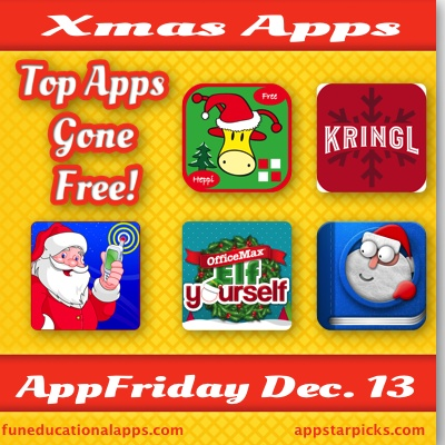13 we have found some great christmas apps for your kids to have fun over the holiday season starting with a matching game with bo the giraffe - Free Christmas Apps