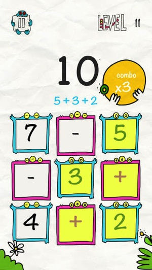 Math x Creature Fun Math Puzzle Game 2
