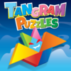 Kids Doodle Jigsaw Puzzles- Tangram Halloween, Math & IQ Learning Activities for Girls and Boys