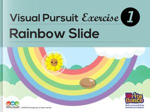 Visual Pursuit Exercise- Rainbow Slide