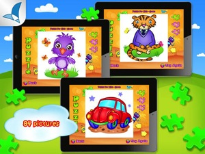 123 KIDS FUN PUZZLE GREEN