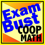 COOP HSPT Math Flashcards Exambusters