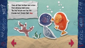 The Frog and Fish storybook 2