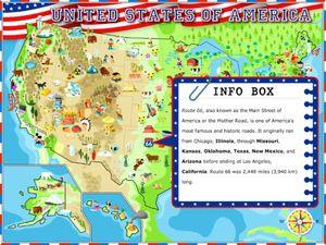 USA - Illustrated Atlas