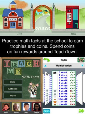 TeachMe Math Facts
