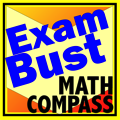 COMPASS Math Prep Flashcards Exambusters