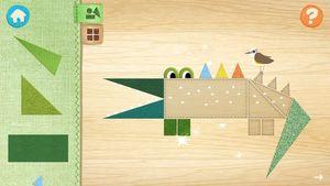 Doodle Critter Math- Shapes 4