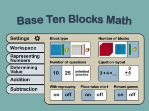 Base Ten Blocks Math