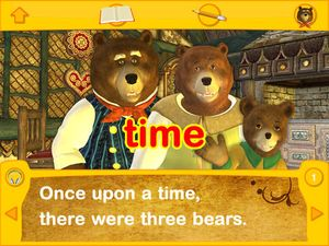 Touch and Write Storybook- 3 Bears 2