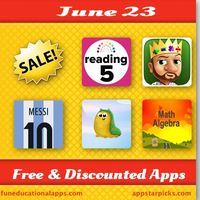 Free and Discounted Apps for Kids