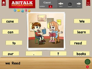 Sentence Builder for Special Needs Children 2