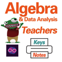Teacher and Student Print Materials for Algebra Data Analysis