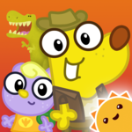 Dino Dog - A Digging Adventure with Dinosaurs!