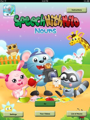Speech with Milo- Nouns 2