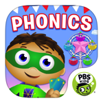 SUPER WHY Phonics Fair for iPad