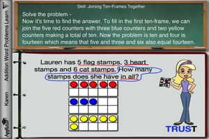 AppTutor AWP  Addition Word Problems 2