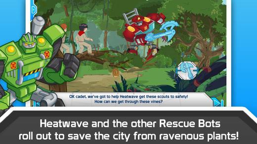 Transformers Rescue Bots Cake Topper