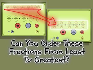 Ordered Fractions- 3