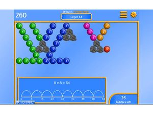 Bubble Pop Multiplication 2
