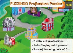 PUZZINGO Professions Puzzles