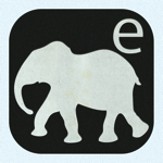 E is For Elephant  Alphabet Silhouettes