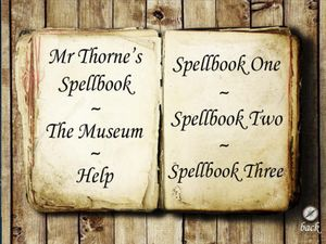 Mr Thorne's Spellbook