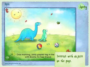 Jonty The Dinosaur 2