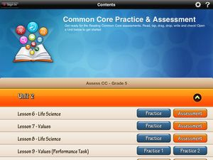 HMH Common Core Reading Practice and Assessment Grade 5
