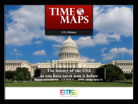 TIMEMAPS U S History  Historical Atlas