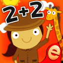 Animal Math Games for Kids with Skills