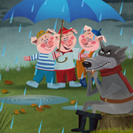 Three Little Pigs, Read & Play Lite