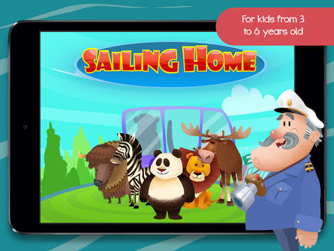 Sailing Home – Learn Animal Habitats