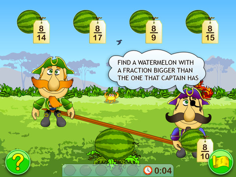 Fractions & Smart Pirates 3