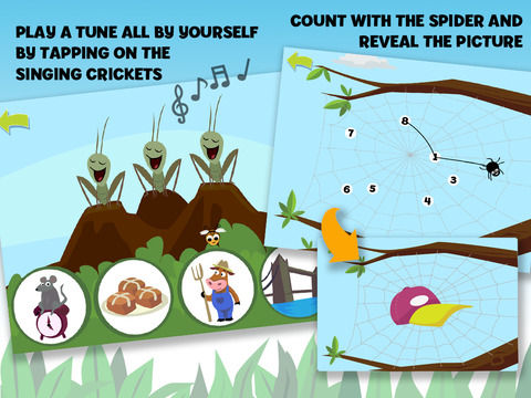 Brainy Bugs' Preschool Games for iPad 3