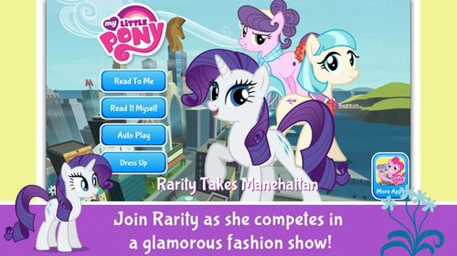 My Little Pony- Rarity Takes Manehattan